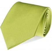 Krawatte Seide Limettengrün F04 - Grün