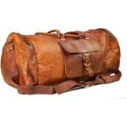 Pranjals House (Expandable) duffle bag for travel Travel Duffel Bag(Brown)