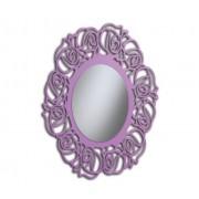 Art.519 Specchiera Ovale Lilla