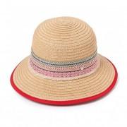 FASHIONDESIGN cappello estivo donna con guarnizione stile etnico