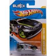2011 Hot Wheels 11 Ken Block Ford Fiesta Black #40/244
