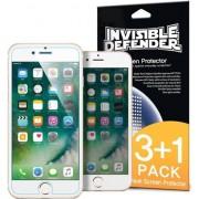 Defender Invizibil 3 + 1 folie de protecție pentru iPhone Plus 8/7 Plus