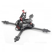 HSK5-X215 215mm 5mm Arm Thickness Carbon Fiber Frame Kit for RC FPV Racing Drone