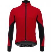 Santini Beta Rain Windstopper Jacket - Red - M - Red