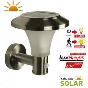 Luxform solar Calais LED wand buitenlamp