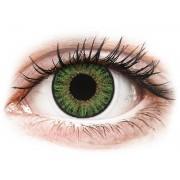 TopVue Color - nedioptrické jednodenní (10 čoček) Green