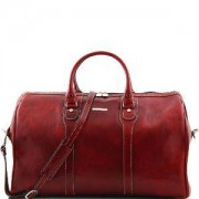 TUSCANY LEATHER Sac de Voyage Cuir Rouge -Tuscany Leather-