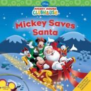 Mickey Saves Santa [With Sticker(s)], Paperback