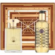 Amouage Jubilation 25 Men lote de regalo I. eau de parfum 100 ml + gel de ducha 300 ml