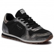 Pepe Jeans Sneakersy PEPE JEANS - Verona W Twin PLS30903 Chrome 952