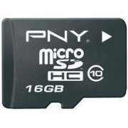 PNY MicroSD 16GB MicroSD Classe 10 memoria flash