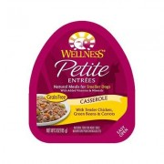 Wellness Petite Entrees Casserole with Chicken, Green Beans & Carrots Wet Dog Food, 3-oz, 24 ct