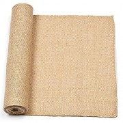 Hessian Roll - 160cm x 30cm roll of Hessian. Easy to cut. Eco-friendly material. Add a rustic texture to collages, backgrounds or borders.