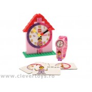 9005039 Set ceas de mână LEGO și ceas educativ
