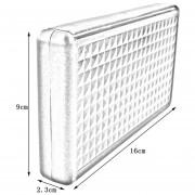 ER 32 Ranuras Caja De Juegos Portátil De Protección De Almacenamiento Duro Caja De Caja Para 3DS / 3DSXL-blanco