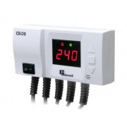 Termostat pentru panourile solare KG CS09, comanda pompa colector solar si pompa de circulatie