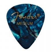 Fender 351 Ocean Turq., medium (12 Stk.) Plektrum