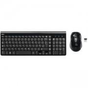 Комплект клавиатура и мишка HAMA Trento, безжичен, черен, HAMA-182666