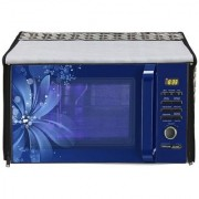 Glassiano Printed Microwave Oven Cover for Samsung 20 Litre Solo MW73AD-B/XTL