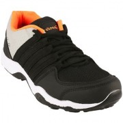 Clymb Dangal Black Orange Running Sports Shoes For Men's In Various Sizes