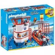 Комплект Плеймобил 5539 - Брегова охрана с фар - Playmobil, 291024