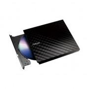 DVD-RW Extern Asus SDRW-08D2S-U/BLACK/G/AS 90-DQ0435-UA221KZ, USB 2.0, Negru