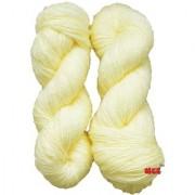 Vardhman Charming Cream 300 gm hand knitting Soft Acrylic yarn wool thread for Art & craft Crochet and needle