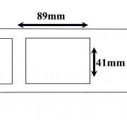 Labels Dymo Compatible Labels 89 x 41 mm(11356) (10 st)