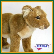 HANSA Hansa stuffed toy 5746 child Lion 42 STANDING LION CUB