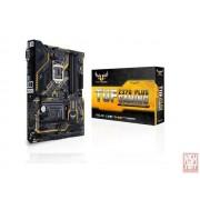 Asus TUF Z370-PLUS GAMING, Intel Z370, VGA by CPU, 2xPCI-Ex16, 4xDDR4, 2xM.2, DVI/HDMI/USB3.1/USB Type-C, ATX (Socket 1151)