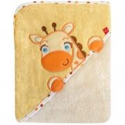 Prosop cu capison 76x76 cm - Bobobaby - Girafa Crem