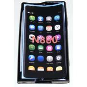 Силиконов гръб ТПУ за Nokia Lumia 800 Черен