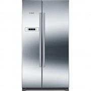Bosch Serie 4 KAN90VI20G American Fridge Freezer - Stainless Steel
