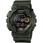Casio G-Shock GD-100MS-3ER Military 'Stealth' Displayflitser 51 mm