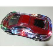 ППортативна музикална Hi - Fi стерео колонка - буфер кола Usb Sd Card Ferrari светещо