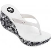 Zaxy Șlapi pentru femei flip-flop Lipstick VI Fem 82296-23709 White/Black 39