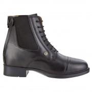 Suedwindfootwear Bottines d'équitation à lacets SuedwindKids BZ, fermeture glissière derrière, enfant