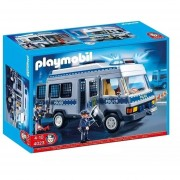 Furgon De Policia Playmobil Con Luces Y Accesorios - 4023