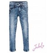 Jubel! Meisjes Lange Broek - Maat 140 - Denim - Katoen/polyester/elasthan