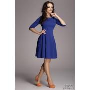Blue Giggly Fashion Flared Skirt Dress