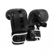 Gants de boxe pour travail au sac - 12 oz - Noirs