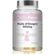 Simply Supplements Huile d'Onagre 500mg pour Chien - 90 Gélules