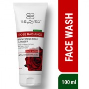Beloved Bliss Rose Radiance Face wash with Natural Rose Extracts for Radiant Smooth Skin SLS Paraben Free 100 ml