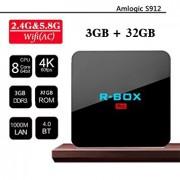 Tv Box R BOX Pro 4K Amlogic S912 KODI DDR4 3GB RAM 32GB ROM Android 7.1