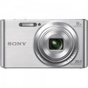 Цифров фотоапарат Sony Cyber Shot DSC-W830 silver - DSCW830S.CE3