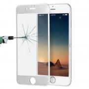 Apple ENKAY voor iPhone 8 & iPhone 7 0 26 mm 9H oppervlakte hardheid titaanlegering 3D Curverd Arc explosieveilige getemperd glas volledige scherm Film(Silver)