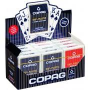 Plastic speelkaarten Index 4 hoeken Display - Copag