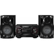 Panasonic Sc-Akx200e-K Mini Hi Fi Potenza 400 Watt Lettore Cd Radio Usb Mp3 Subwoofer - Sc-Akx200e-K