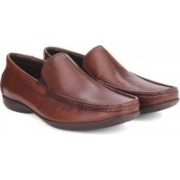 Clarks Finer Sun Brown Leather Formal Shoes For Men(Brown)