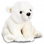 Ursulet de plus polar Keel Toys, 25 cm, 3 ani+